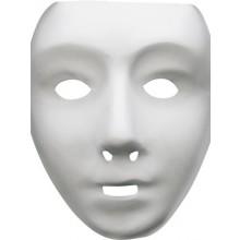 Robotmaske Hvid