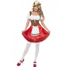 Bayersk Pige - kostume