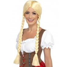 Blond Bayersk Paryk