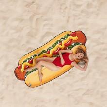 Strandhåndklæde Gigantisk Hotdog