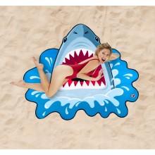Strandhåndklæde Haj