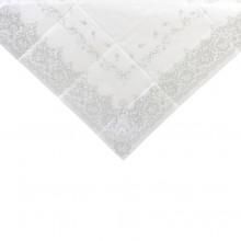 Borddug Elegant Sølv