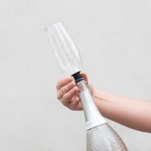 Bundløst Champagneglas