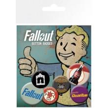 Fallout Bagdes 6-Pak