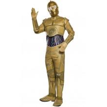 C-3PO Star Wars Maskeraddräkt Vuxen