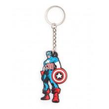 Marvel Captain America Nøglering