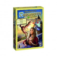 Carcassonne expansion 3, Princess & Dragon