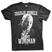 CHARLIE RUNKLE IS MY WINGMAN T-SHIRT (SORT)
