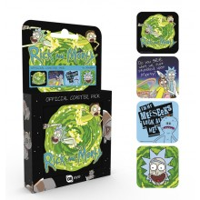Rick And Morty Glasbrikker 4-pak