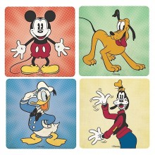Disney Mickey Mouse Med Venner Coasters