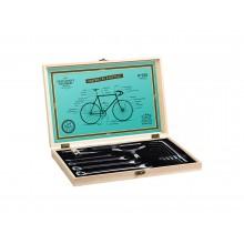 Cykelværktøj I Trææske