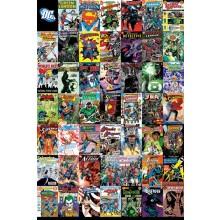 DC COMICS (MONTAGE) POSTER