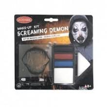 Makeup Halloween Demon