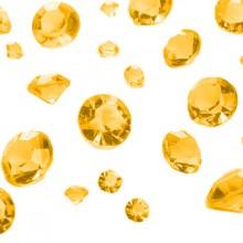 Borddekoration Diamant Guld