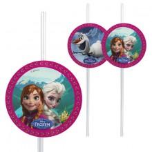Sugerør Frozen 6-pak