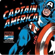 Captain America Glasbrikkker 6-pak
