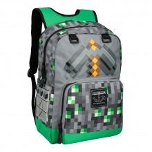 Minecraft Emerald Survivalist Rygsæk