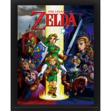 The Legend Of Zelda 3D Plakat