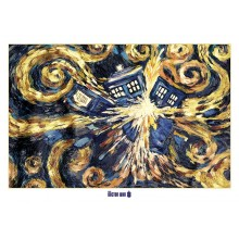 DOCTOR WHO (EXPLODING TARDIS) POSTER