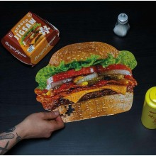 Puslespil Hamburgere