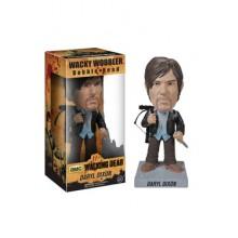 The Walking Dead Wacky Wobbler Bobble Head New Biker Daryl