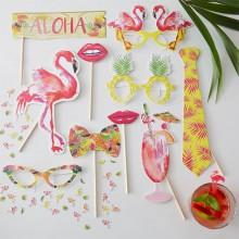 Rekvisit Flamingo 10-Pak