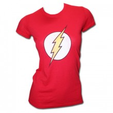 The Flash Emblem T-Shirt Dam