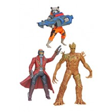 """Guardians of the Galaxy"" ActionFigurer ""Galactic Battlers"""