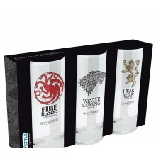 Game of Thrones Glas 3-pak