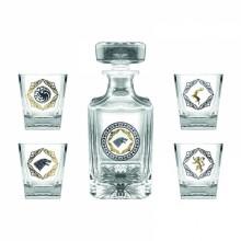 Game Of Thrones Premium Karaffel & 4 Glas