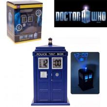 Dr. Who - Tardis Alarm Clock Med Lys