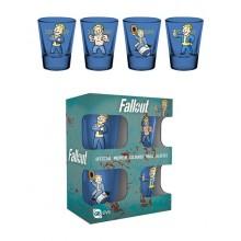 Fallout Vault Boy Premium Shotglas 4-pak