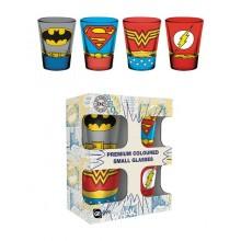 DC Comics Premium Shotglas 4-pak