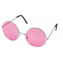 Runde Briller Lyserøde