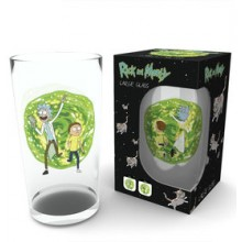Rick & Morty Stort Glas