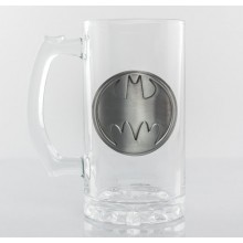 Ølglas Batman Logo