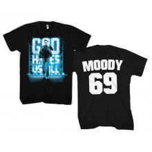 GOD HATES US ALL - MOODY 69 T-SHIRT (SORT)