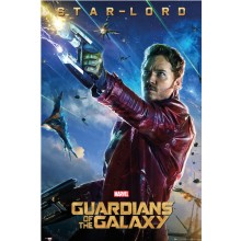 GUARDIANS OF THE GALAXY STAR-LORD PLAKAT