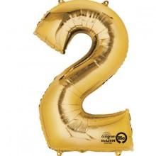 Nummer Ballon Guld 2