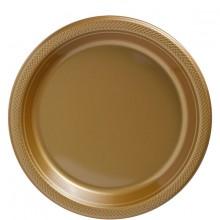 Tallerkner Deluxe Guld 20-Pak