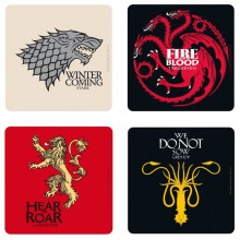 Game Of Thrones Coasters 4-pak
