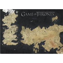 GAME OF THRONES (MAP OF WESTEROS & ESSOS)