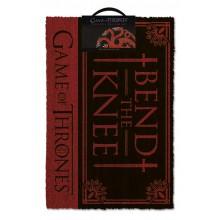 Game Of Thrones Dørmåtte Bend The Knee