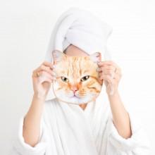 Håndklæder Kat Ansigt