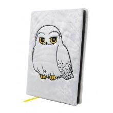 Harry Potter Notesbog Fluffig Hedwig