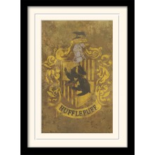 Harry Potter Indrammet Poster Hufflepuff Crest