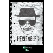 BREAKING BAD (HEISENBERG WANTED) POSTER