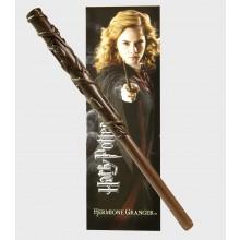 Harry Potter - Hermiones Wand Kuglepen & Bogmærke