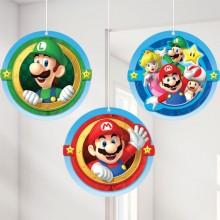 Dekoration Super Mario 3-pak