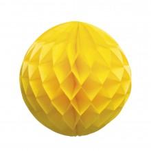 Honeycomb Gul 25 cm